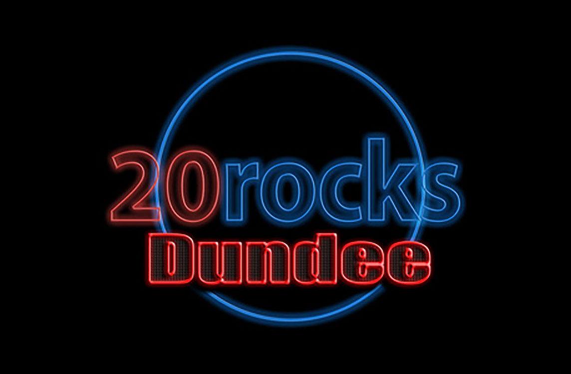 twenty rocks, 20 rocks, Gigs in Dundee