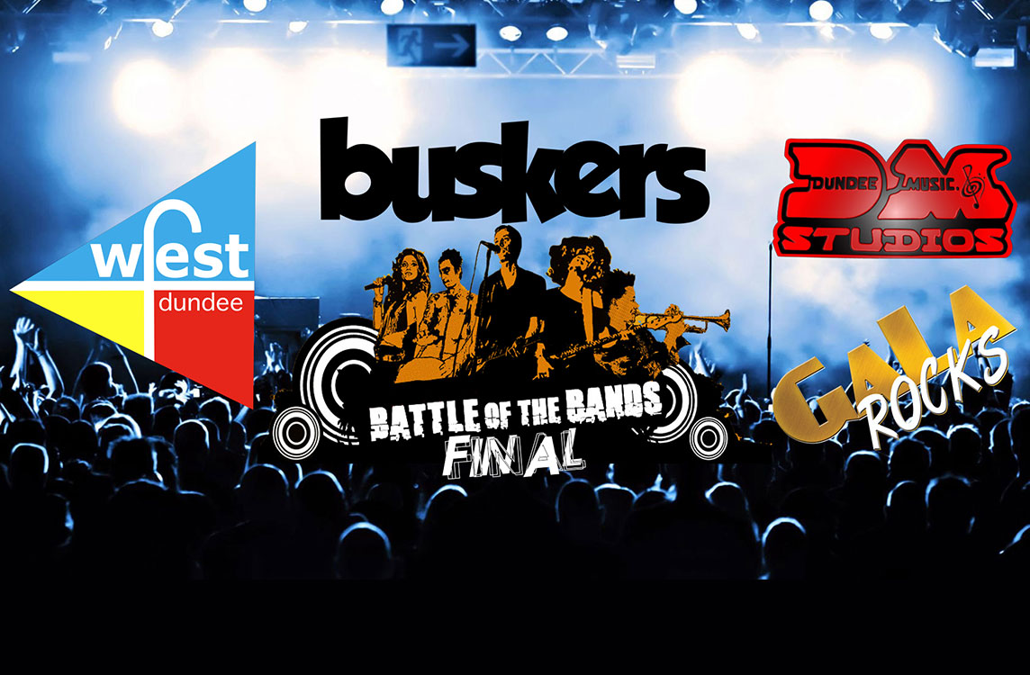 battle of the bands, botb, buskers, Gigs in Dundee